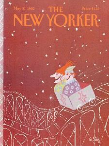 The New Yorker Cover - May 31, 1982 by William Steig