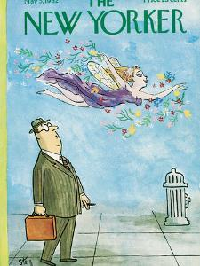 The New Yorker Cover - May 5, 1962 by William Steig