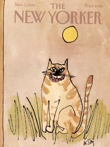 The New Yorker Cover - November 1, 1982 by William Steig