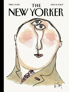 The New Yorker Cover - November 12, 2007 by William Steig