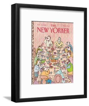 The New Yorker Cover - November 28, 1983