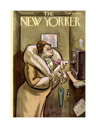 The New Yorker Cover - October 15, 1932