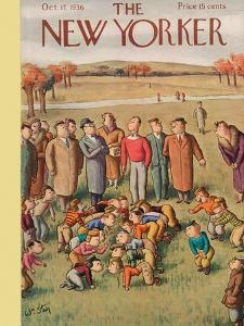 The New Yorker Cover - October 17, 1936 by William Steig