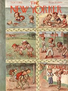 The New Yorker Cover - September 3, 1938 by William Steig