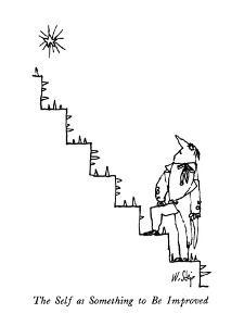 The Self as Something to Be Improved - New Yorker Cartoon by William Steig