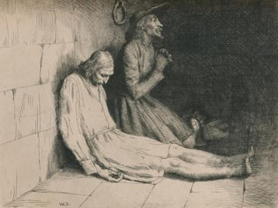 Christian and Hopeful in the Dungeon, C1916 by William Strang