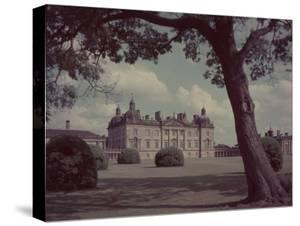 18th Century England, Houghton Hall, Norfolk, England by William Sumits