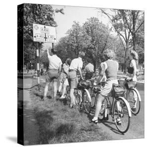 Bikers Out For a Sunday Ride by William Sumits