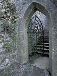 Castle Doorway, County Mayo, Ireland by William Sutton