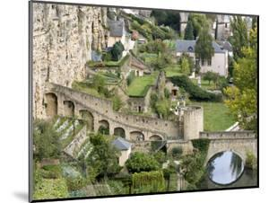 Grund Neighborhood, Luxembourg City, Luxembourg by William Sutton