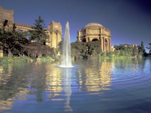 Palace of Fine Arts, Presidio, San Francisco, California, USA by William Sutton