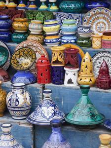 Pottery, Essaouira, Morocco by William Sutton