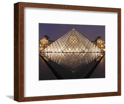 The Pyramide Du Louvre, Paris, France