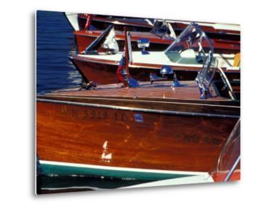 Vintage Wood Boats, Lake Union, Seattle, Washington, USA