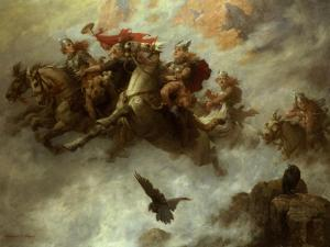 The Ride of the Valkyries by William T^ Maud