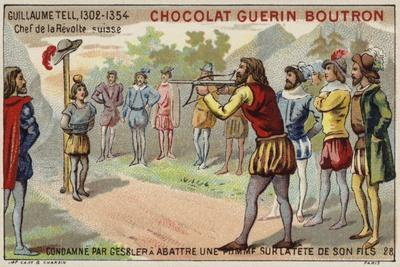 William Tell Is Forced by the Tyrant Gessler to Shoot an Apple from His Son's Head--Giclee Print