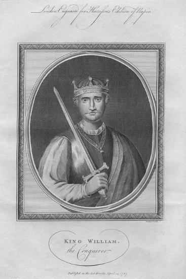 William the Conqueror, 1787--Giclee Print