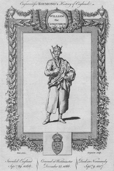 'William the Conqueror', c1787-Unknown-Giclee Print