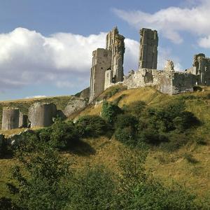 Corfe Castle, 11th Century by William the Conqueror