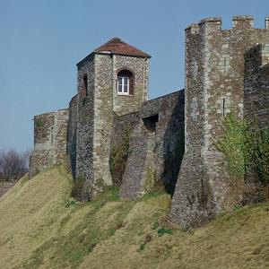 Dover Castle Walls, 12th Century by William the Conqueror