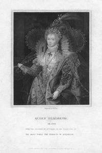 Elizabeth I, Queen of England by William Thomas Fry