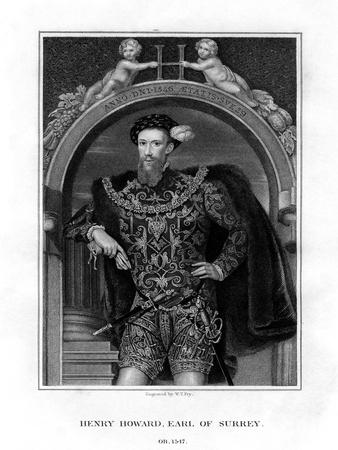 Henry Howard, Earl of Surrey, English Aristocrat and Poet