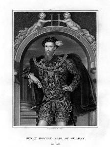 Henry Howard, Earl of Surrey, English Aristocrat and Poet by William Thomas Fry