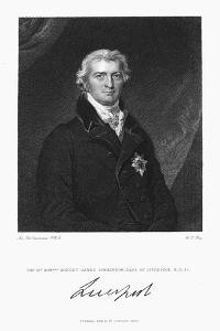 Robert Banks Jenkinson, Earl of Liverpool, British Statesman, 1830 by William Thomas Fry