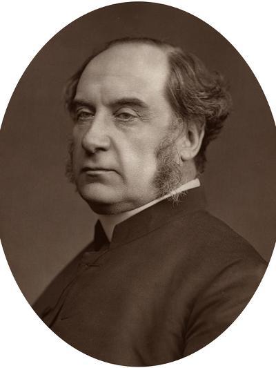 William Thomson, Archbishop of York, 1878-Lock & Whitfield-Photographic Print