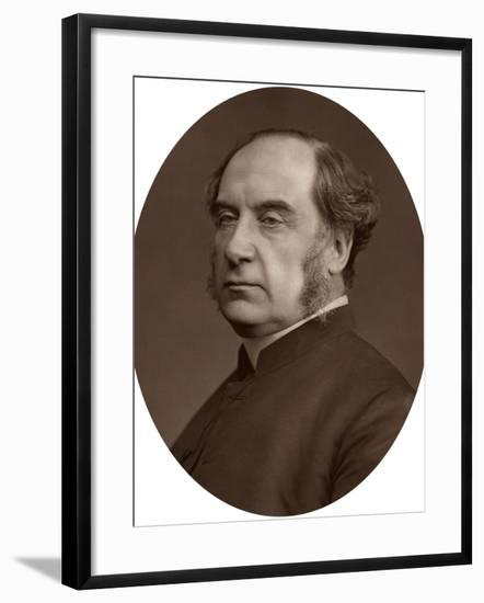 William Thomson, Archbishop of York, 1878-Lock & Whitfield-Framed Photographic Print