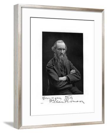 William Thomson, Lord Kelvin, Irish-Scottish Mathematician, Physicist and Engineer, 1877--Framed Giclee Print
