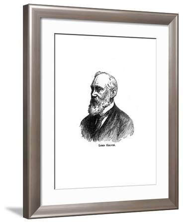William Thomson, Lord Kelvin, Irish-Scottish Mathematician, Physicist and Engineer--Framed Giclee Print