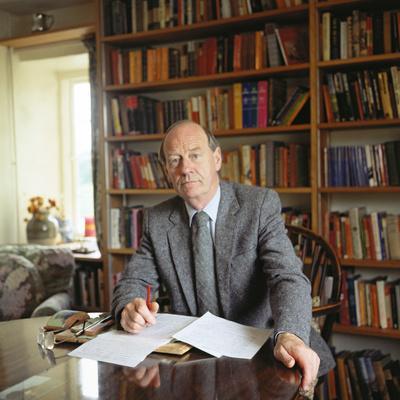 William Trevor, 1983--Photographic Print