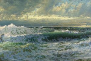 After a Gale, 1903 by William Trost Richards