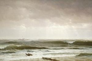 Along the Shore, 1870 by William Trost Richards