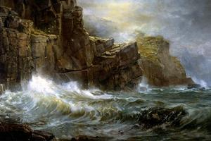 Coast of Cornwall by William Trost Richards