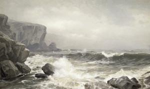 Crashing Surf, c.1902 by William Trost Richards