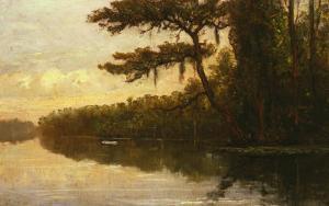 Florida Landscape, 1875 by William Trost Richards