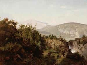 In the Adirondack Mountains, 1857 by William Trost Richards