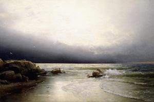 Lands End - New Jersey Coast, 1887 by William Trost Richards