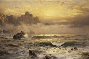 Mornings Mist, Guernsey, 1898 by William Trost Richards