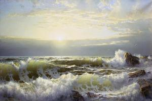 Off Connecticut, Newport, 1904 by William Trost Richards