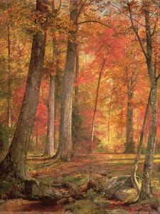Path in the Forest, 1865 by William Trost Richards