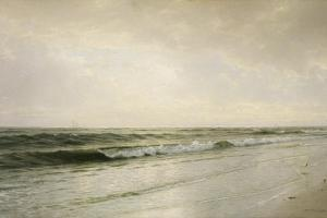Quiet Seascape, 1883 by William Trost Richards