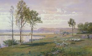 Second Beach, Middletown, Rhode Island, 1876 by William Trost Richards