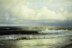 Sunlit Clouds and Sea, 1897 by William Trost Richards