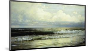 Sunlit Clouds and Sea by William Trost Richards