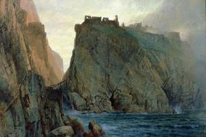 Tintagel on the Cornish Coast by William Trost Richards
