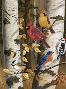 Autumn Friends by William Vanderdasson