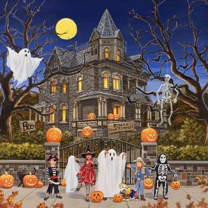 Beware - Haunted House by William Vanderdasson
